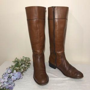Corso COMO Leather Boot Riding Brown Tall Samual